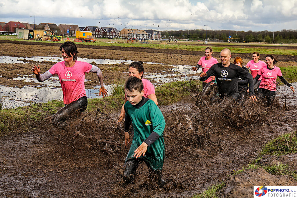Mudrun Fun 2016 in Amersfoort / Vathorst
