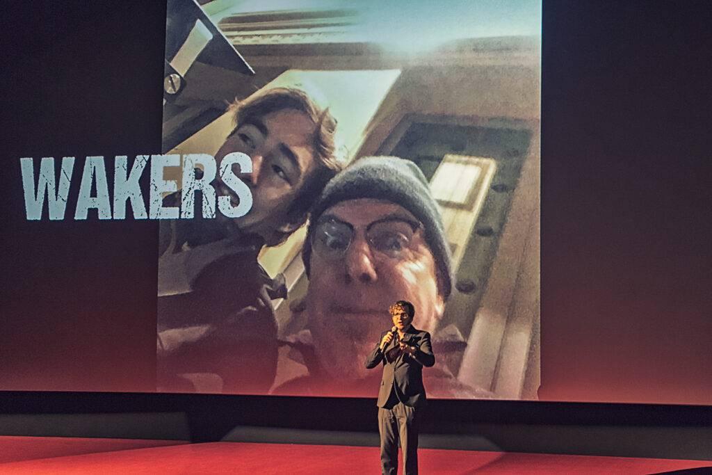 Premiere bioscoopfilm wakers bij Pathé in Zwolle